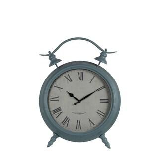 Privilege Iron Table Clock