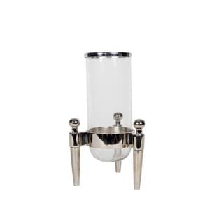 Privilege Nickel Finish Aluminum Lantern