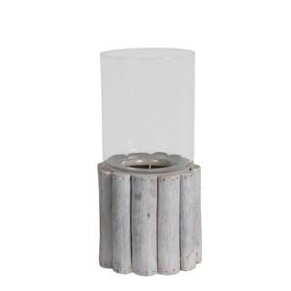 Privilege International Organic Wooden Large Candle Lantern