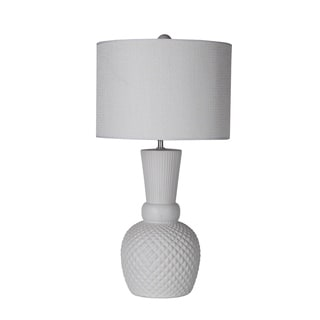 White Ceramic Table Lamp