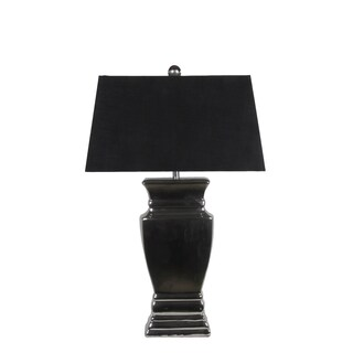 Black Ceramic Table Lamp