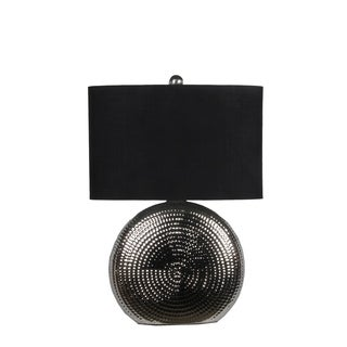 Privilege Black Ceramic Table Lamp