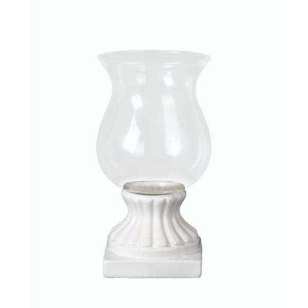 Privilege International White Ceramic Medium Hurricane