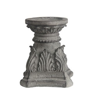Privilege Grey Medium-sized Concrete Candle Holder
