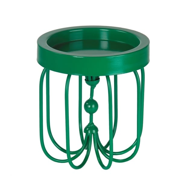 Privilege Green Iron Small-size Candle Holder