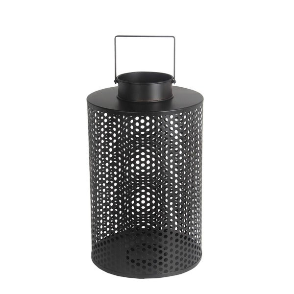 Privilege Black Iron Large Lantern