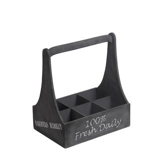 Privilege Grey Wooden Wine Holder