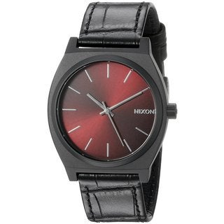 Nixon Men's A045-1886 Time Teller Red Watch