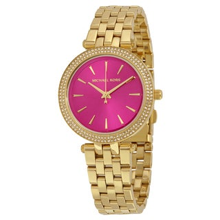 Michael Kors Women's MK3444 Mini Darci Pink Watch