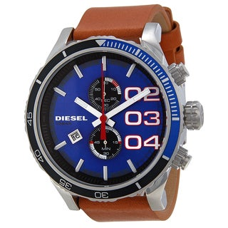 Diesel Men's DZ4322 Double Down Blue Watch