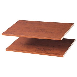 """Easy Track RS1423-T 24"""" Truffle Easy Track Shelves 2-count"""