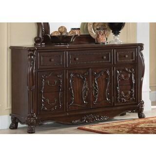 Coaster Abigail Cherry Wood Dresser