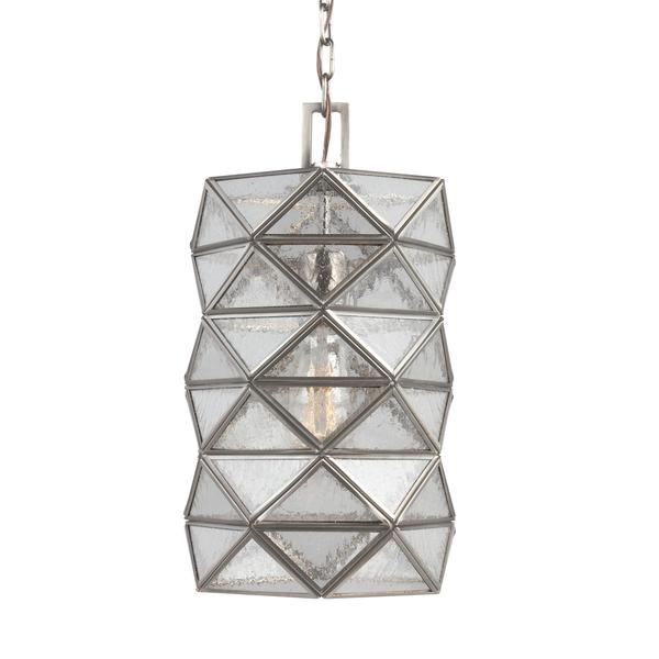 Sea Gull Harambee 1 Light Antique Brushed Nickel Pendant
