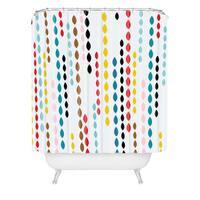 Khristian A Howell Nolita Drops Shower Curtain