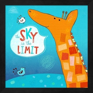 Carla Martell 'The Sky Is The Limit' Framed Art