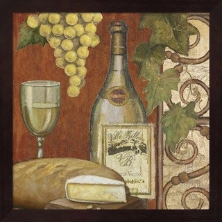 Art Licensing Studio 'Wine and Cheese Tasting 2' Framed Art Print