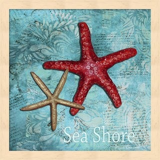 Megan Duncanson 'Sea Shore' Framed Art
