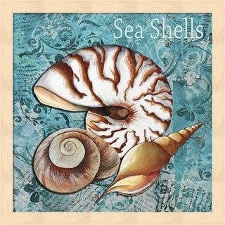 Megan Duncanson 'Sea Shells' Framed Art