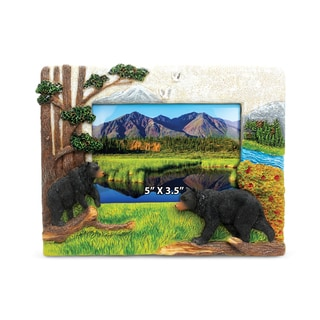 Stone Resin Black Bear Frame