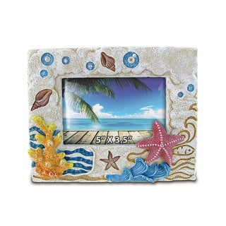 Stone Resin Starfish Frame