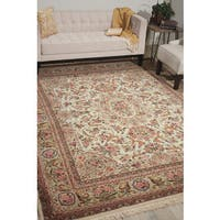 Nourison Royalty Ivory Area Rug - 7'9 x 9'9