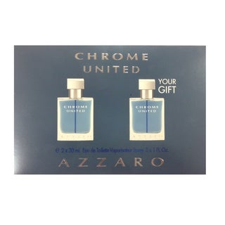 Azzaro Chrome United Men's 2-piece Eau De Toilette Set