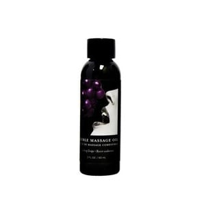 Earthly Body 2-ounce Edible Massage Oil Gushing Grape