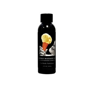 Earthly Body 2-ounce Edible Massage Oil French Vanilla