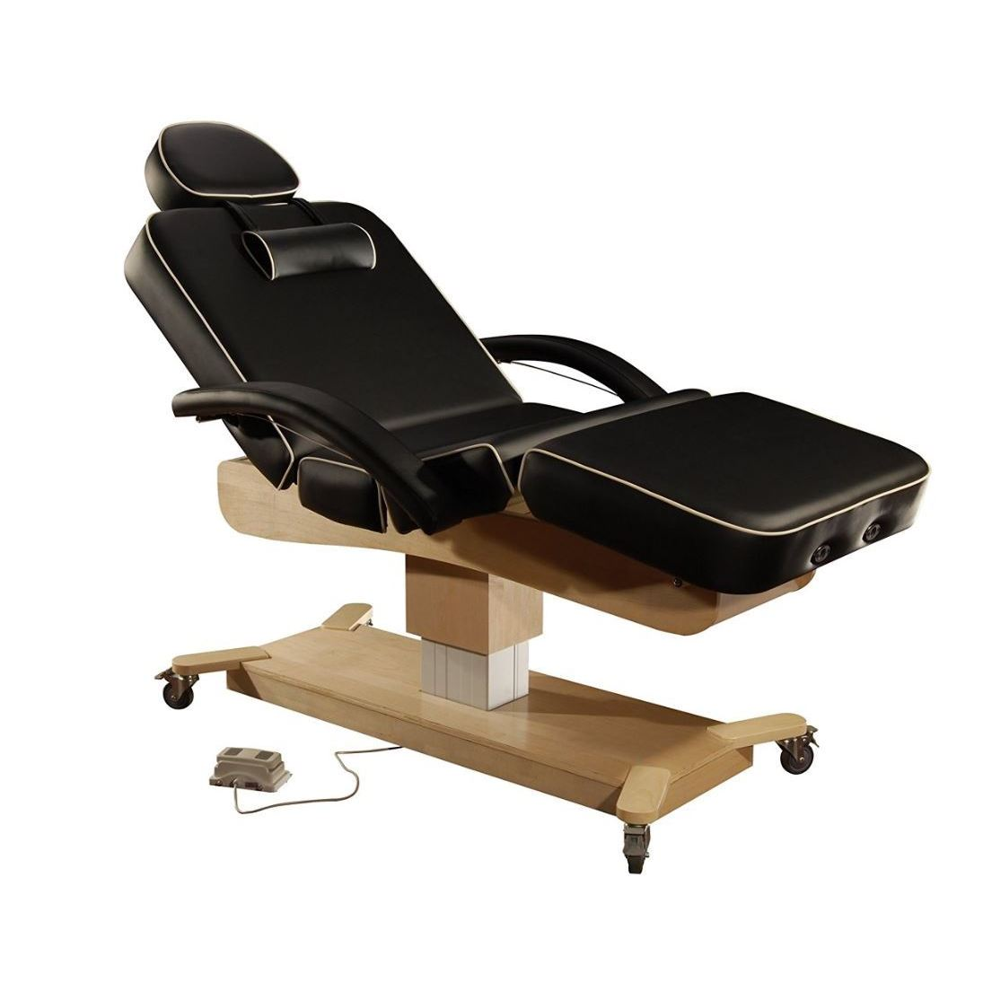 Master Massage MaxKing Leather/Wood 30-inches Salon Elect...