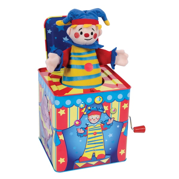 Schylling silly circus jack in the box toy free shipping for Jack in the box fish