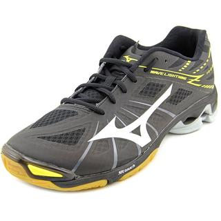 Mizuno Men's Wave Lightning Z Grey Textile Athletic Sneakers