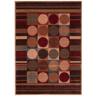 Nourison Rhythm Multicolor Area Rug (5'3 x 7'5)