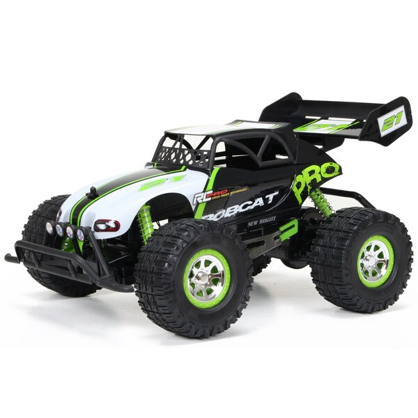 New Bright Pro Plus Bobcat 1:10 Scale Remote Control Full Function 9.6-volts Toy