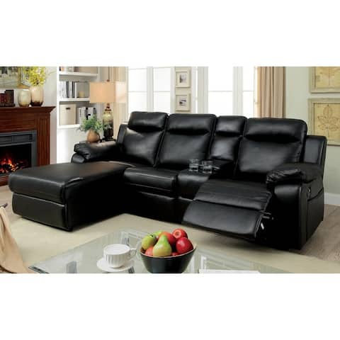 Buy Black, Modern & Contemporary Sectional Sofas Online at Overstock ...