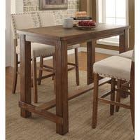 Furniture of America Telara Contemporary Natural Bar Table