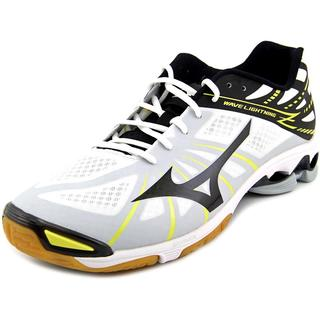 Mizuno Men's 'Wave Lightning Z' White Basic Textile Athletic Shoes