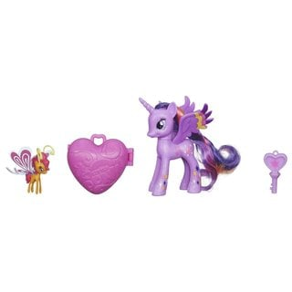 My Little Pony 'Friendship is Magic' Multicolored Plastic Twilight Sparkle and Sunset Breezie Figures
