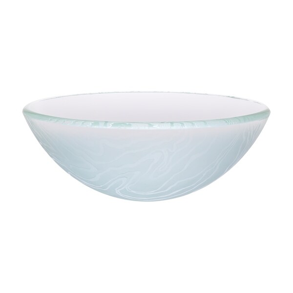 Novatto Gelo Glass Vessel Bathroom Sink