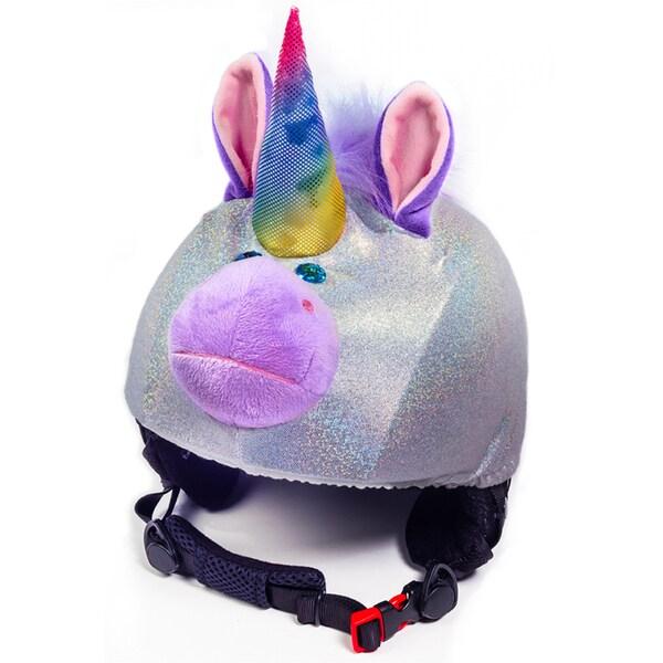 stretcheeHeads Sparky the Unicorn Spandex Helmet Cover
