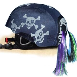 stretcheeHeads Skullz N' Bones Spandex Helmet Cover