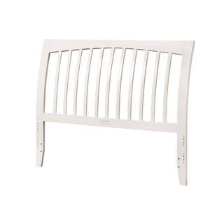 Orleans White Full-sized Headboard