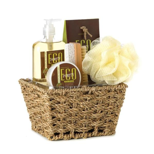 Bath and Body Verbena Scent Gift Basket