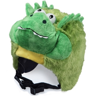 crazeeHeads Pickles the Alligator Plush Helmet Cover