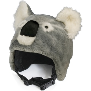 crazeeHeads Kookie the Koala Multicolored Plush Fabric Helmet Cover