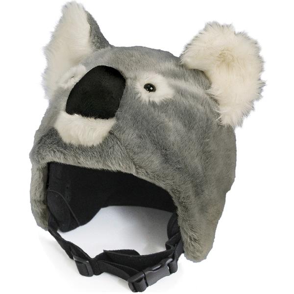 crazeeHeads Kookie the Koala Multicolored Plush Fabric Helmet Cover