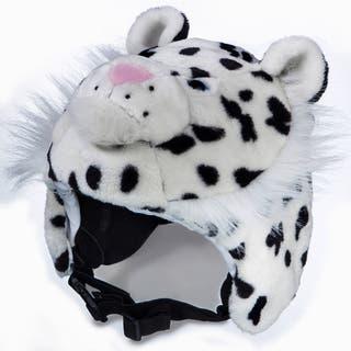 crazeeHeads Zippy the Snow Leopard Plush Helmet Cover https://ak1.ostkcdn.com/images/products/12510362/P19317371.jpg?impolicy=medium