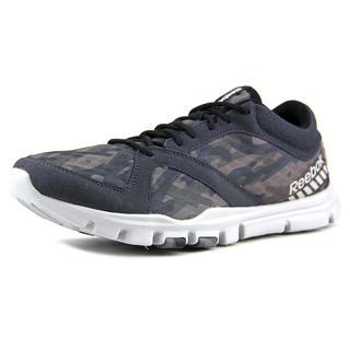 Reebok Men's YourFlex Train 7.0 GR Grey Mesh Athletic Shoes