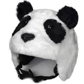 crazeeHeads Zee Zee the Panda Black/White Fabric Plush Helmet Cover https://ak1.ostkcdn.com/images/products/12510376/P19317376.jpg?impolicy=medium