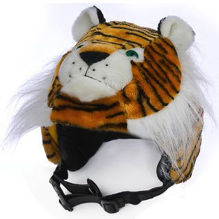crazeeHeads Kleo the Tiger Plush Helmet Cover