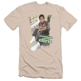 Ehc/Everybody Hates Chris Short Sleeve Adult T-Shirt 30/1 in Cream